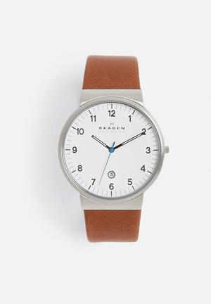 Skagen Ancher Watches Dark Brown