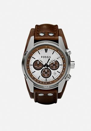 Fossil Coachman Watches Brown