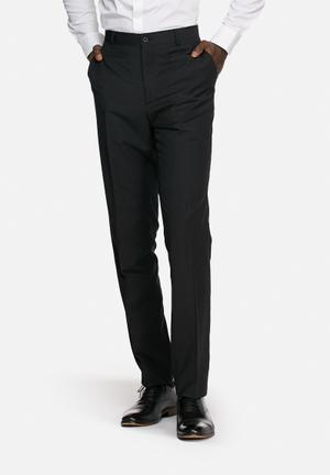 Casual Friday Max Suit Trousers Formal Pants Black