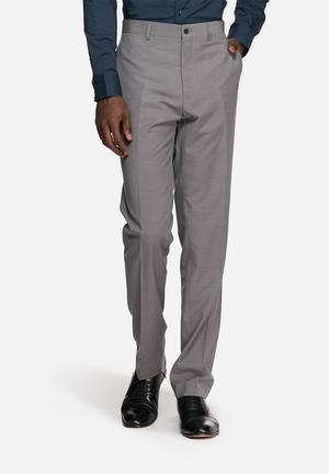 Casual Friday Max Suit Trousers Formal Pants Grey