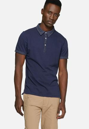 Casual Friday Dean Polo T-Shirts & Vests Navy