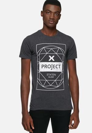 Solid Callaway Tee T-Shirts & Vests Charcoal