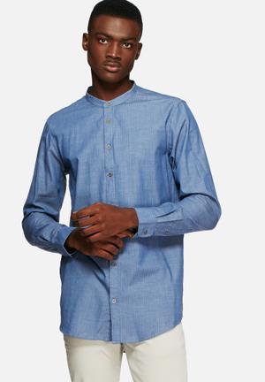 Solid Berquist Shirt Blue