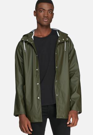 Solid Barbossa Jacket Khaki