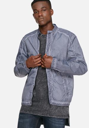 Solid Brant Jacket Blue