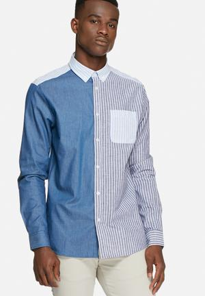 Tailored & Originals Rackenford Shirt Blue