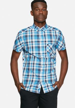 Solid Cadman Shirt Blue