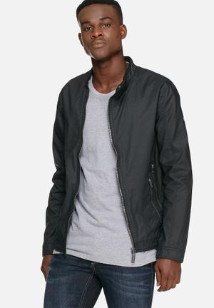 Asymetricl zip jacket