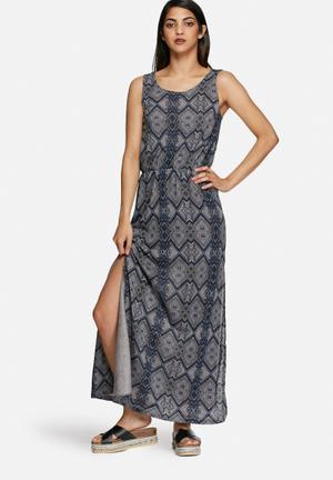 Vero Moda Odaikuna Dress Casual Blue