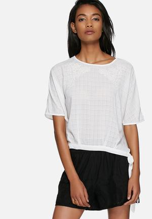 Vero Moda Flowerish Top Blouses White