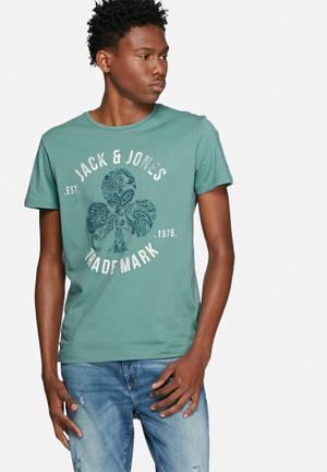 Jack & Jones Traffic Tee T-Shirts & Vests Green