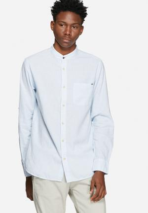 Rupert striped slim shirt