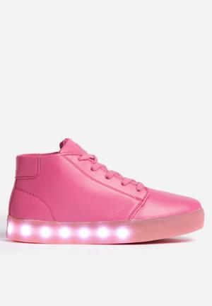 My Pop Shoes Chukka Pop Sneakers Pink