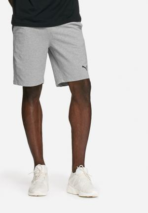 PUMA ESS Jersey Shorts  Grey