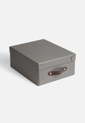 Alwin small flatpack storage box