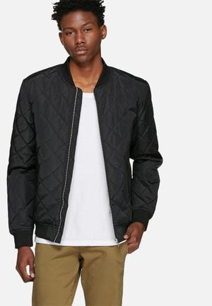 Pete quilted bomber