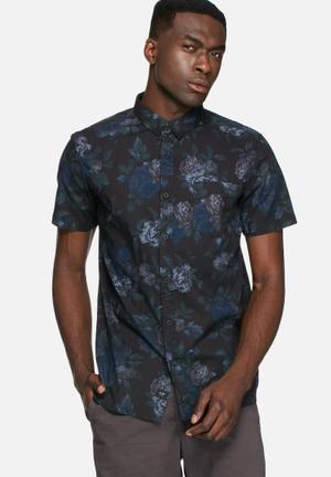 Globe Denman Slim Shirt Navy
