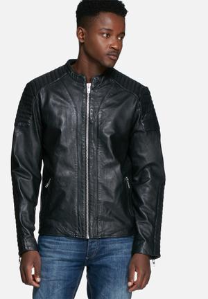 Rowen leather jacket