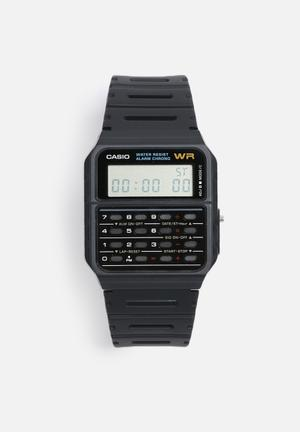 Casio Digital Calculator CA53W-1Z Watches Black
