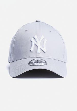 New Era 39THIRTY NY Yankees Headwear Grey