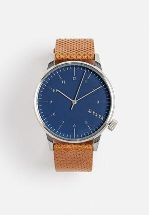 Komono  Winston Watches Brown & Blue