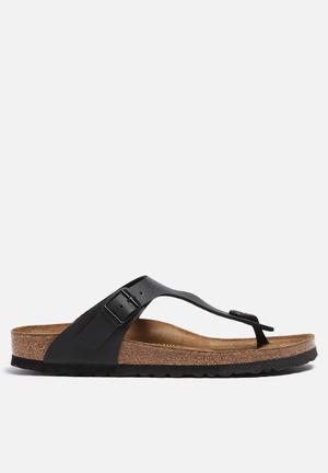 Birkenstock Gizeh Sandals & Flip Flops Black