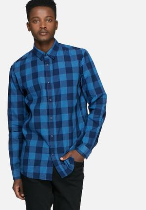 Jack & Jones Adam Shirt Blue & Black