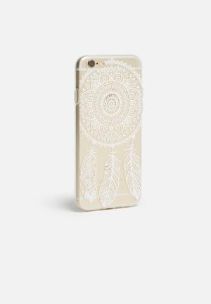 Hey Casey Dream Catcher - IPhone & Samsung Cover Clear / White