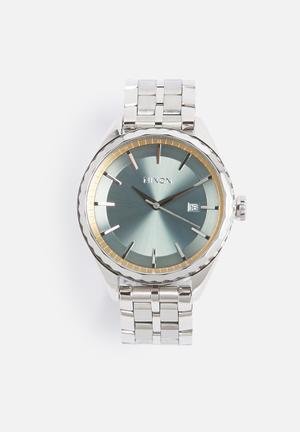 Nixon Minx Watches Sage / Silver