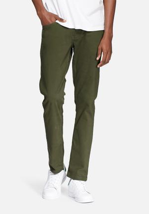 Lee  Detroit Slim Chino Green