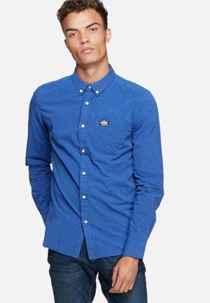 Superdry. Bay View Shirt Blue