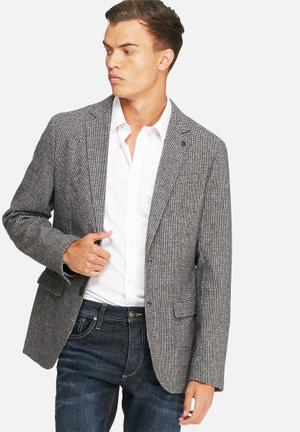 Selected Homme Anton Blazer Grey