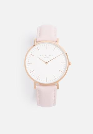 ROSEFIELD Bowery Watches Rose Gold & Pink