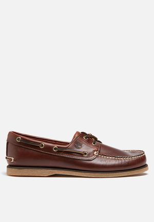Timberland Classic Boat Shoe Slip-ons And Loafers Brown