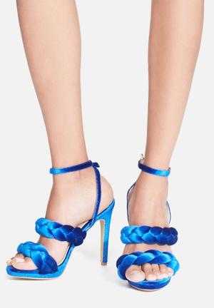 Cape Robbin Daria Heels Royal Blue