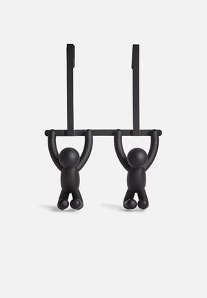 Umbra Buddy Double Over-the-door Hook Accessories Plastic