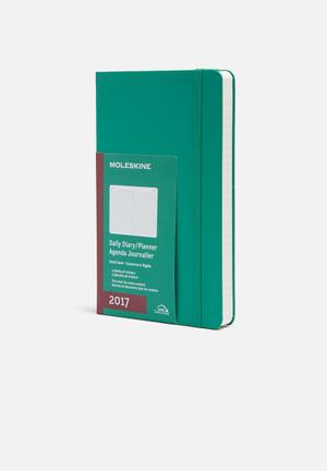Moleskine 2017 A5 Daily Planner Gifting & Stationery Paper