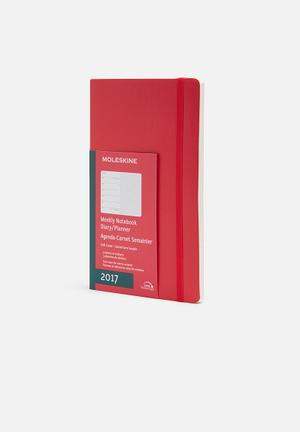 Moleskine 2017 A5 Weekly Planner Gifting & Stationery Paper