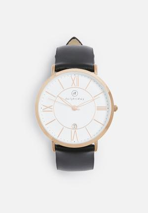 Olivia leather watch