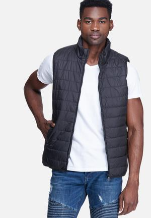 Jake sleeveless bomber
