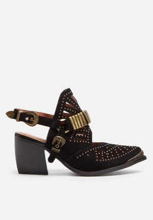 Jeffrey Campbell Kiva Heels Black