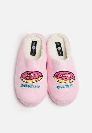 Donut Care Slippers