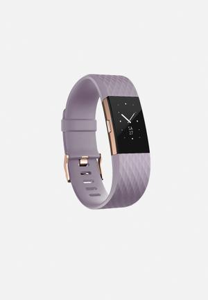 Fitbit Fitbit Charge 2 Sport Accessories Lavender Rose Gold