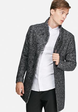 Gotham wool coat