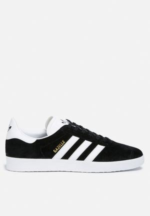 Adidas Originals Gazelle Sneakers Core Black / White / Gold Met