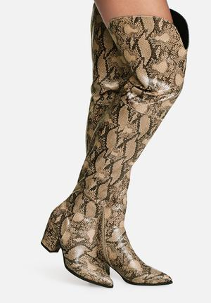 Viper over the knee boot