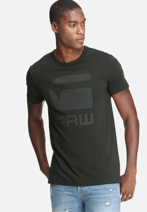 G-Star RAW Tomber Tee T-Shirts & Vests Black