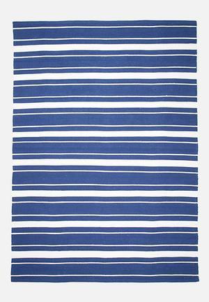 Odd stripe rug