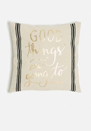 Good thing cushion cover