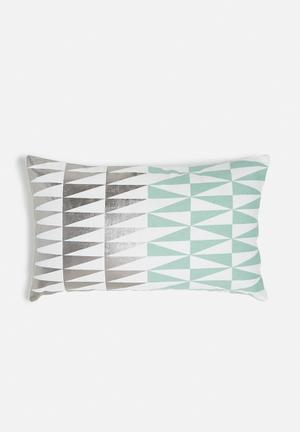 Transition cushion cover